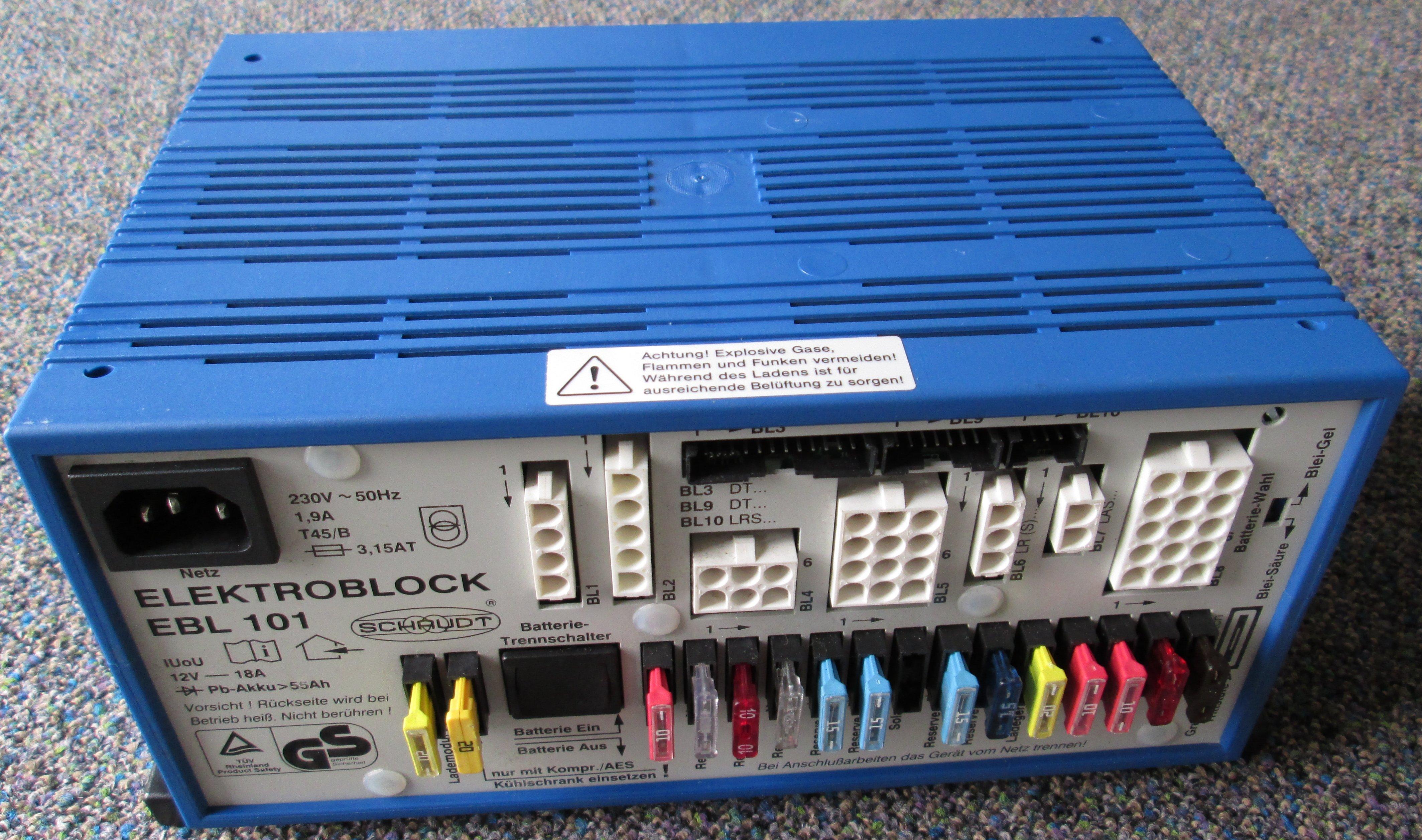 Schaudt Elektroblock EBL101